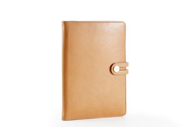 Goatskin iPad Mini Case, Tan