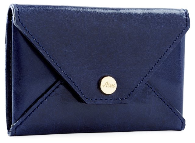 Envelope Card Case, Navy