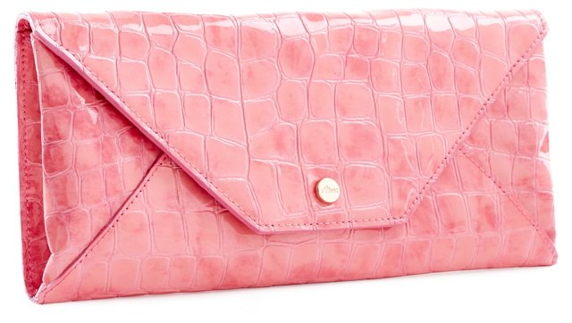 Embossed Travel Envelope, Light Pink