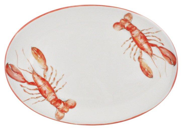 """Red Lobster Oval Platter, 15"""""""