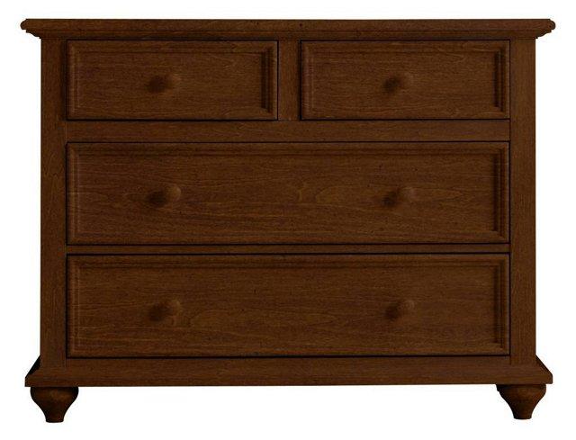 Haven Single Dresser, Rustic Brown