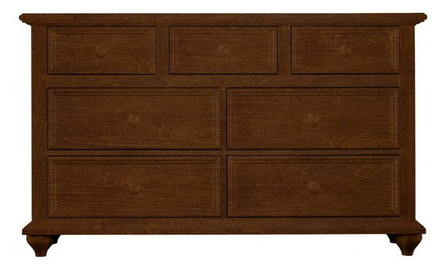 Haven Double Dresser, Rustic Brown