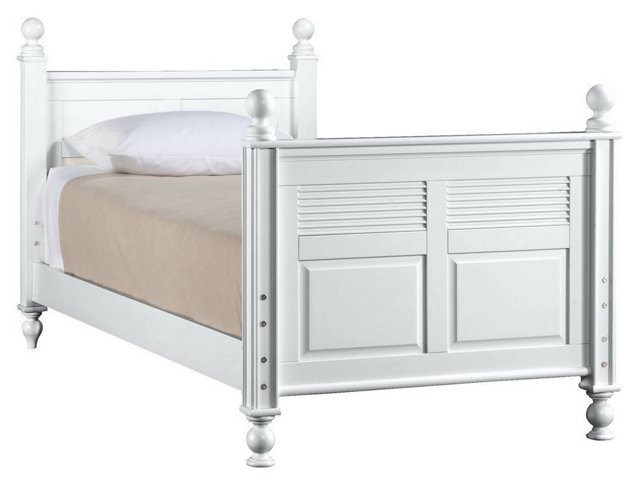Haven Bunkable Bed, White, Twin