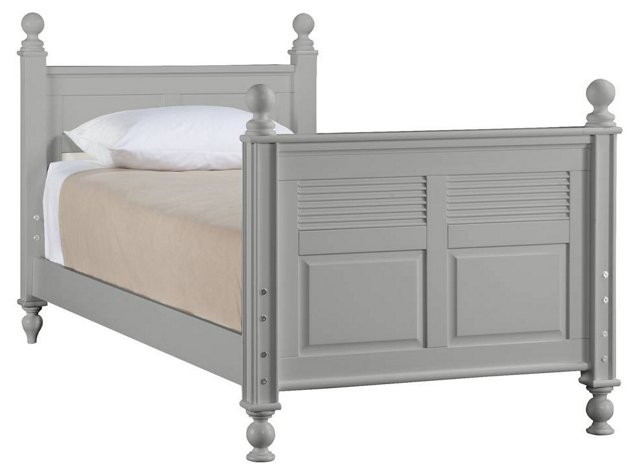Haven Bunkable Bed, Gray, Twin