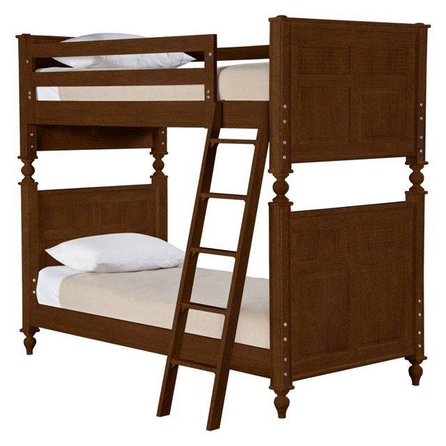 Haven Bunk Bed, Rustic Brown