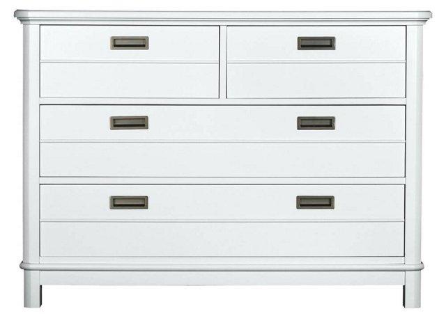 Baird Single Dresser, White