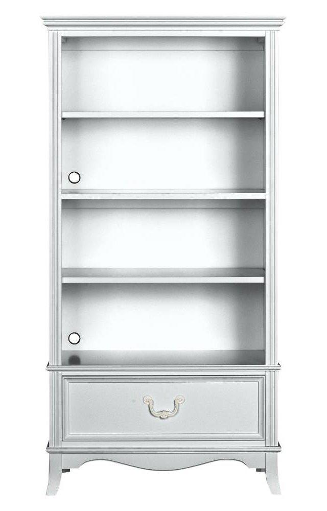 Abby Bookcase, White