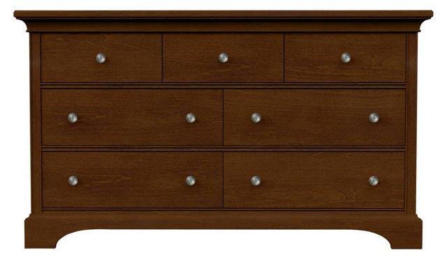 Crosspointe Double Dresser, Brown