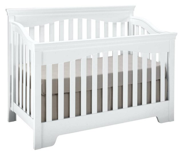 Built To Grow Debut Crib, White