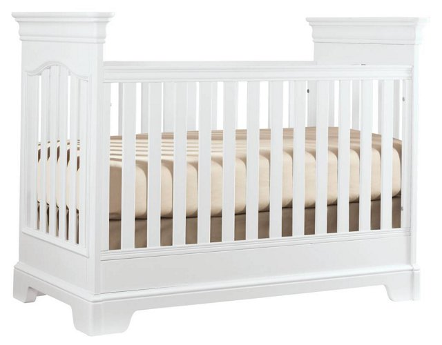 Tribute Crib, White