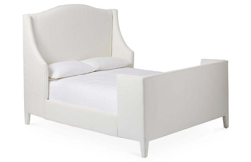 Addison Wingback Bed