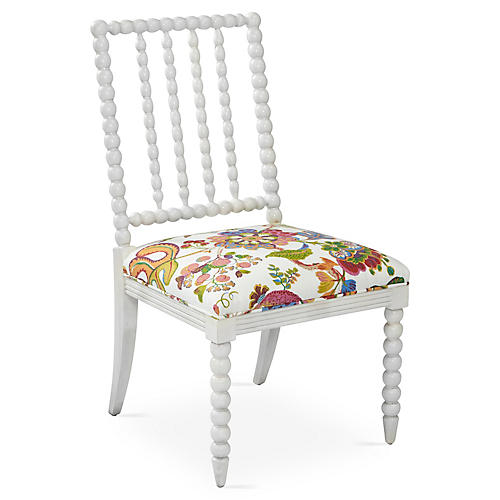 Barton Side Chair, Sugarplum