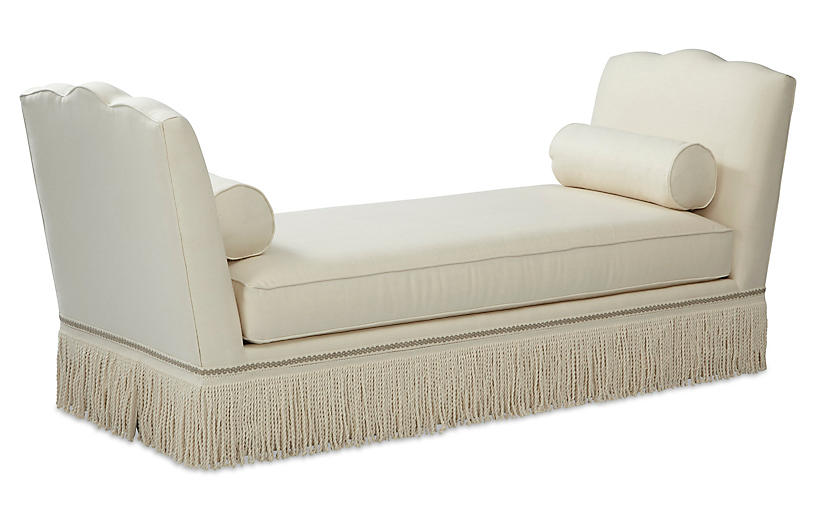 Cheshire Daybed, Cream Linen