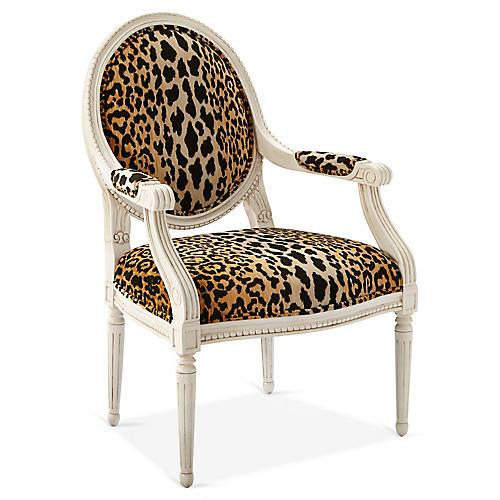 Darcy Armchair, Leopard