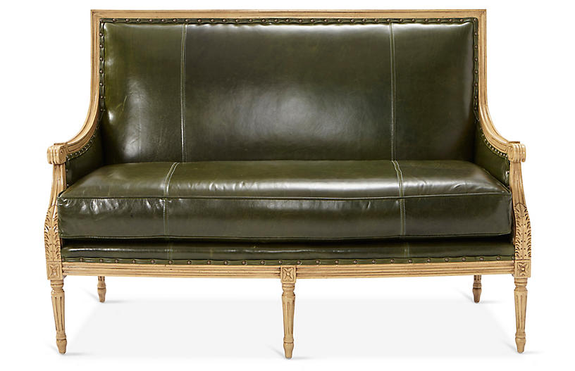James Settee, Evergreen Leather