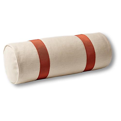Quinn 7x20 Bolster Pillow, Dune Linen