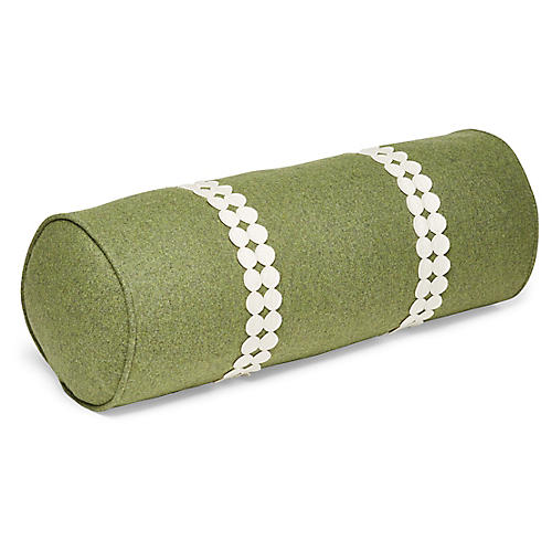 Holly 7x20 Bolster Pillow, Fern