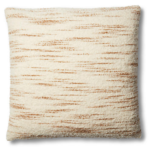Seren Pillow, Cream/Latte