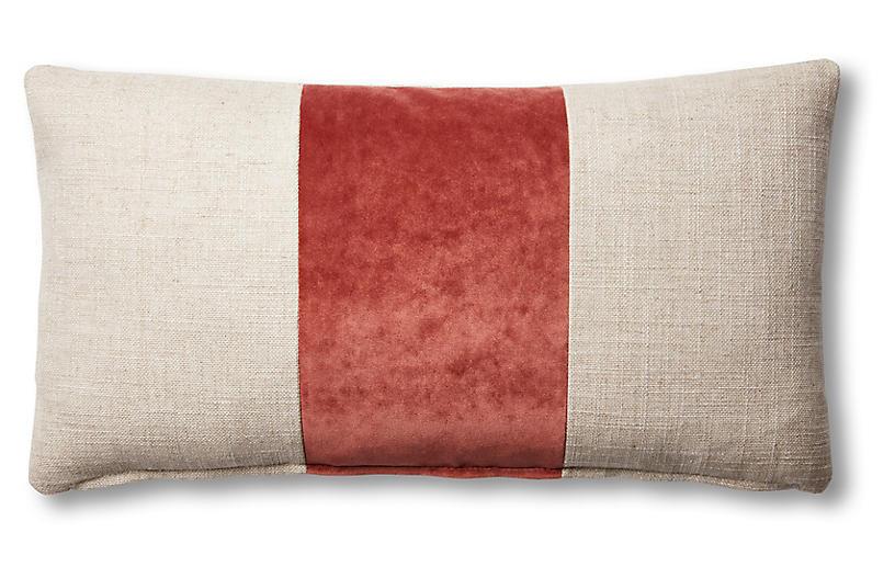 Blakely 12x23 Lumbar Pillow Natural Rust