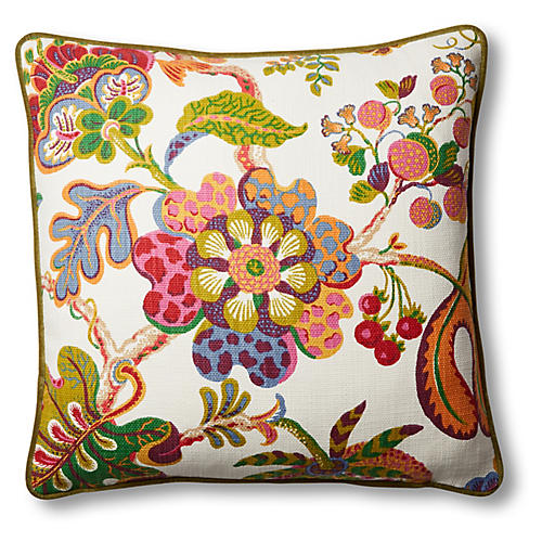 Bronwyn 19x19 Pillow, Sugarplum
