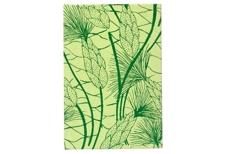 S/2 Cotton Journals, Green
