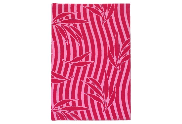 S/2 Cotton Journals, Pink