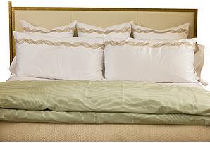 Custom Eastern King Bedding Set