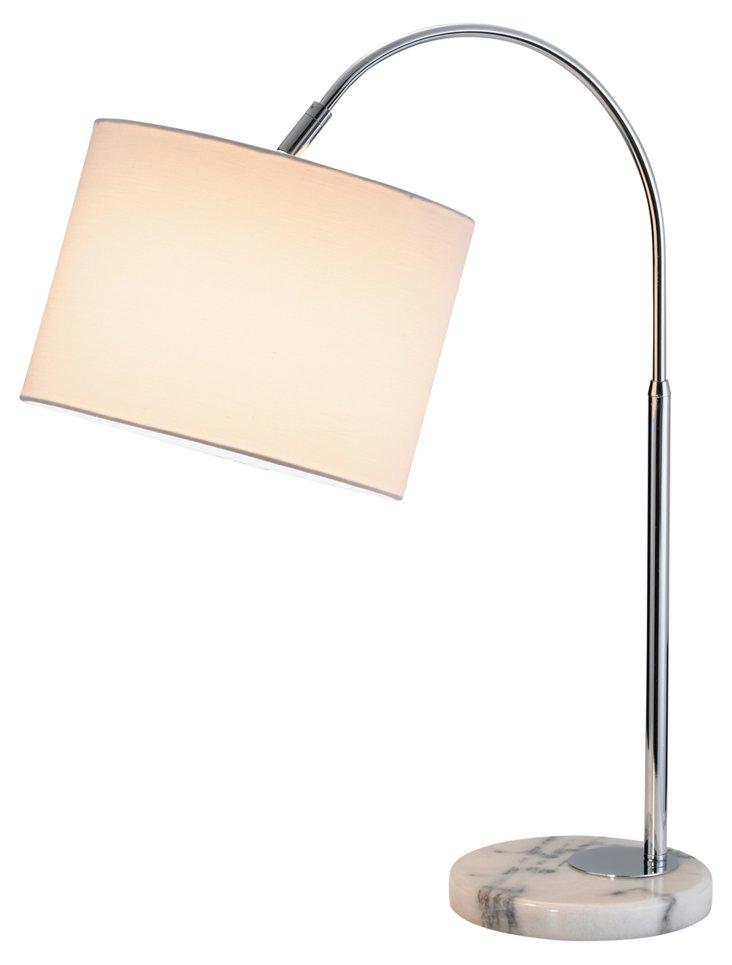Grace Table Lamp, Chrome