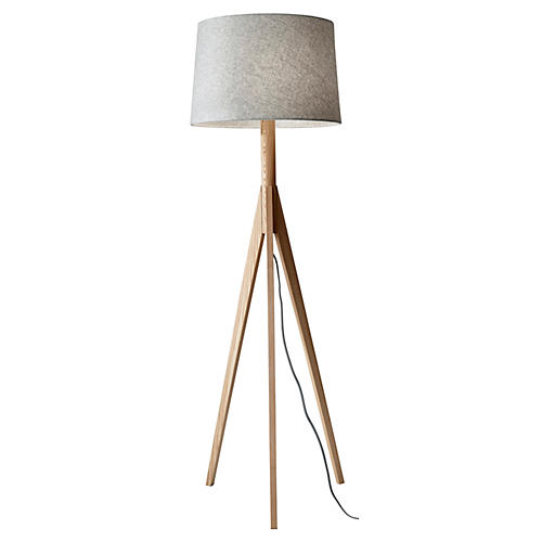 Eden Floor Lamp, Natural
