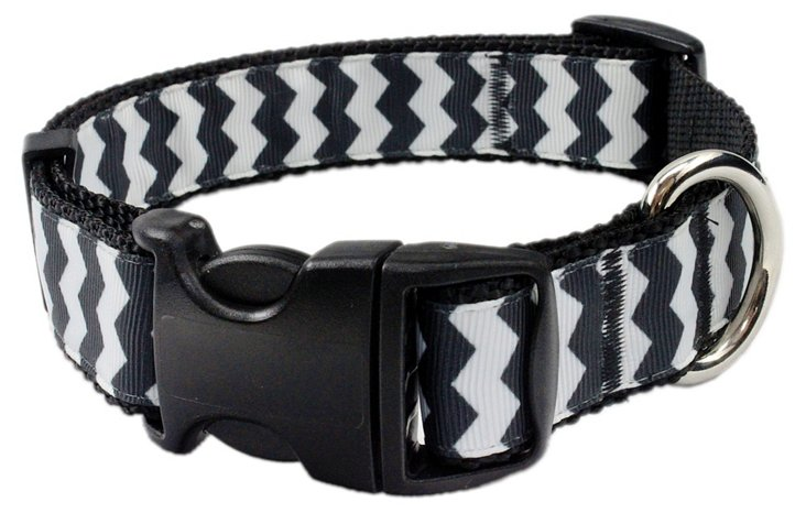 Chevron Collar, Black
