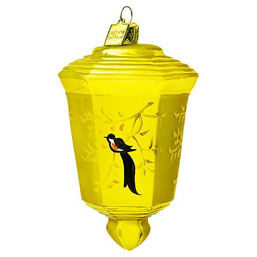 Japanese Lantern Ornament, Gold