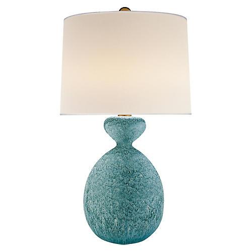 Gannet Table Lamp, Blue Lagoon