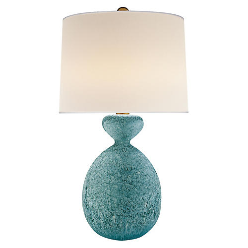 Gannet Table Lamp, Blue Lagoon