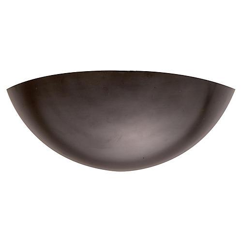 Iriving Sconce, Dark Bronze
