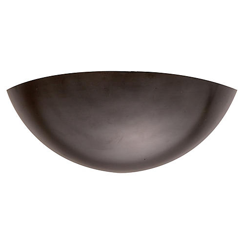 Iriving Sconce, Dark Bronze