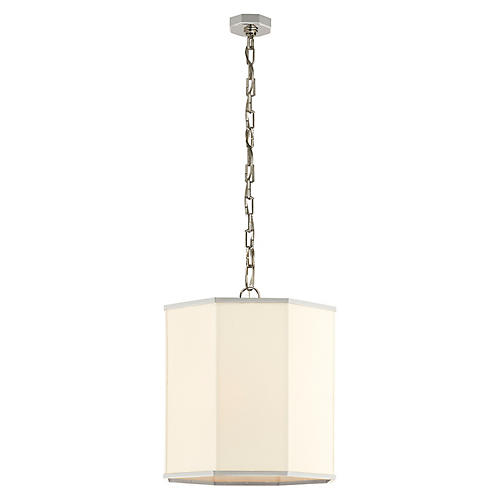 Laban Pendant, Polished Nickel