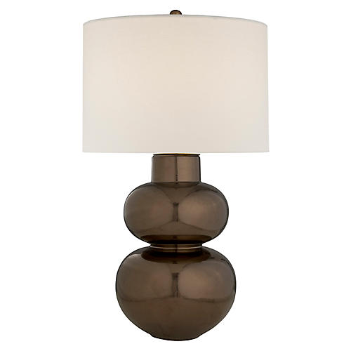 Merlat Table Lamp, Burnt Gold
