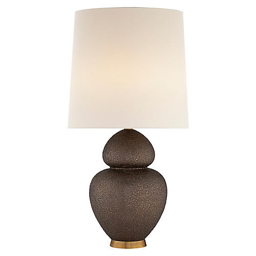 Michelena Table Lamp, Burnt Gold