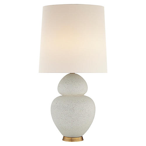 Michelena Table Lamp, Chalk White