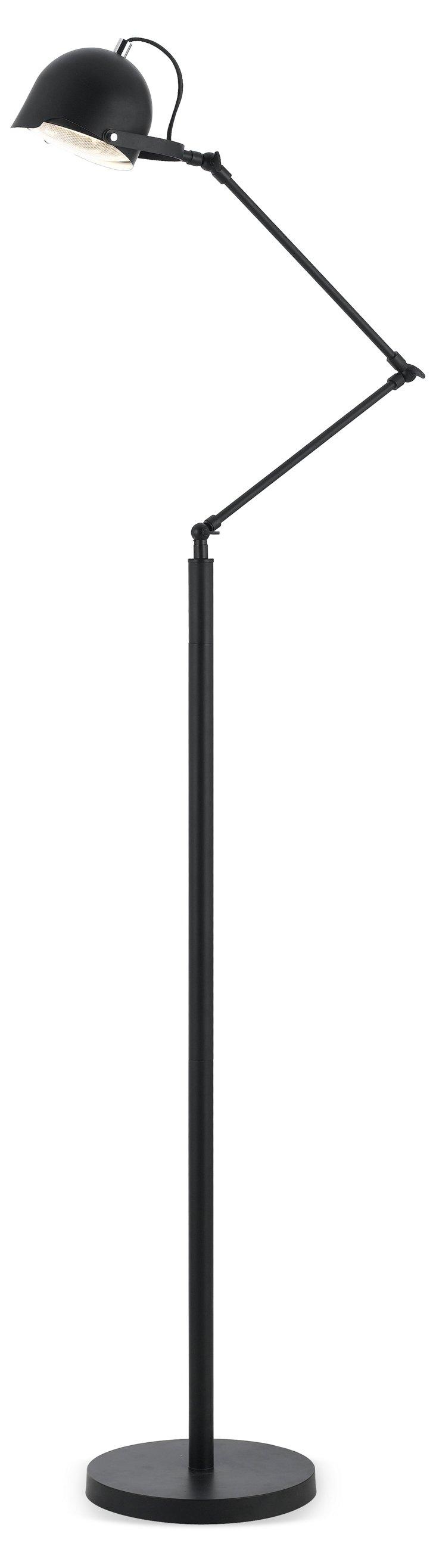Cooper Floor Lamp, Black