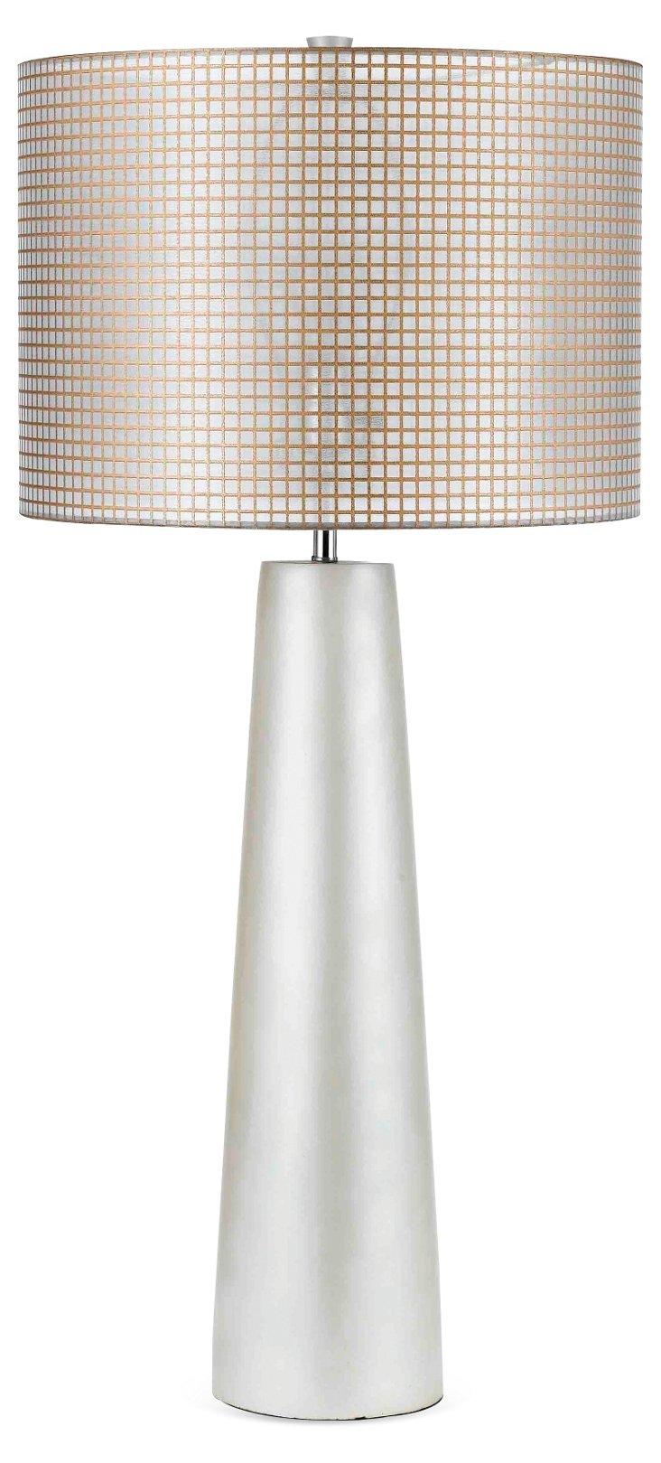 Lola Table Lamp, Silver
