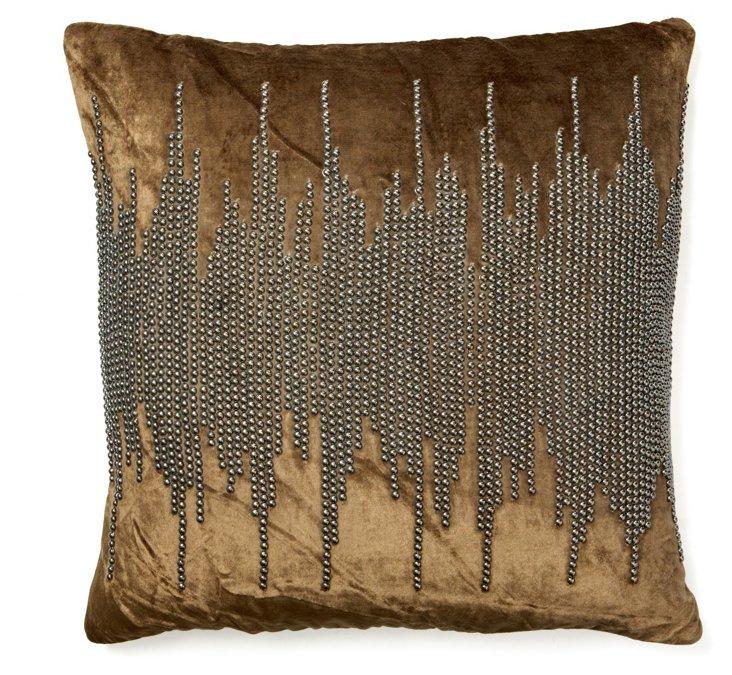 Shore 20x20 Pillow, Light Brown