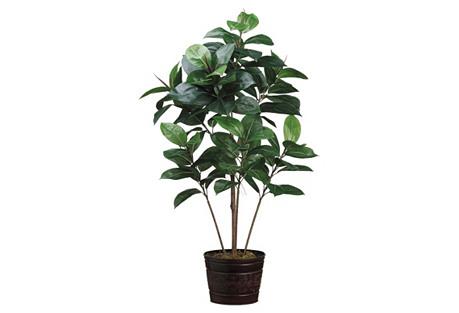 4' Tree in Planter, Faux