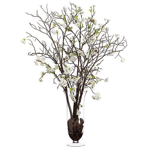 """42"""" Cherry Blossom Arrangement, Faux"""