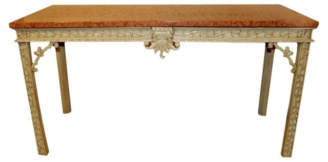 Chinese Chippendale Console