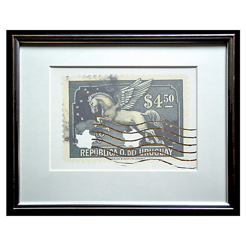 Jean Pierre, Postage Stamp - Pegasus