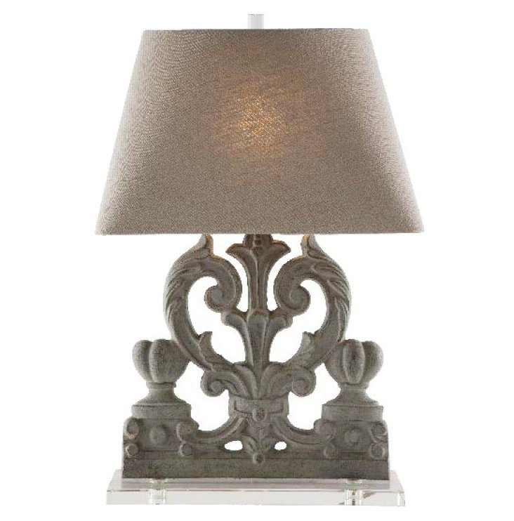 Palermo Table Lamp, Sepia