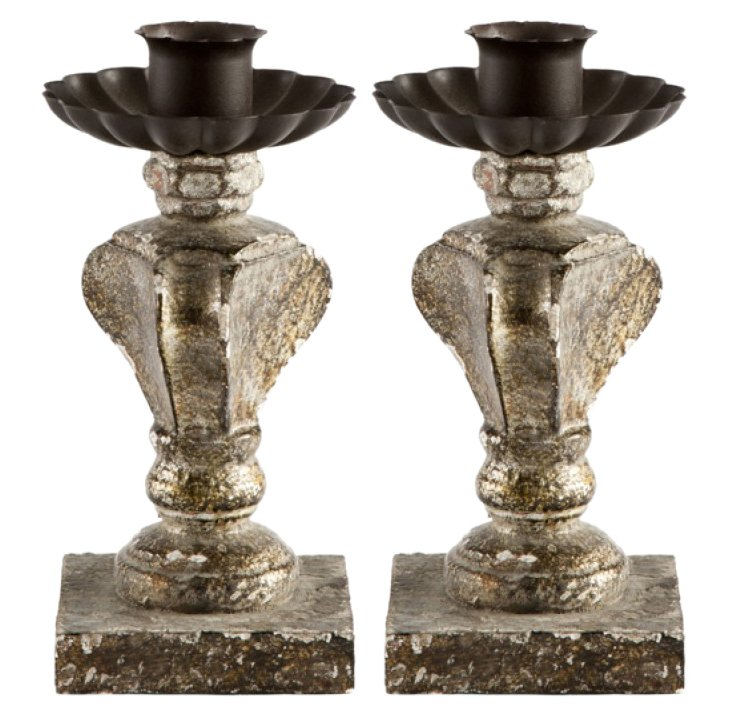 Lille Candlestick, Pair