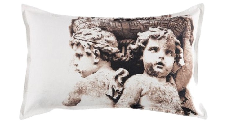Guardians Of Basket Bolster Pillow Cover