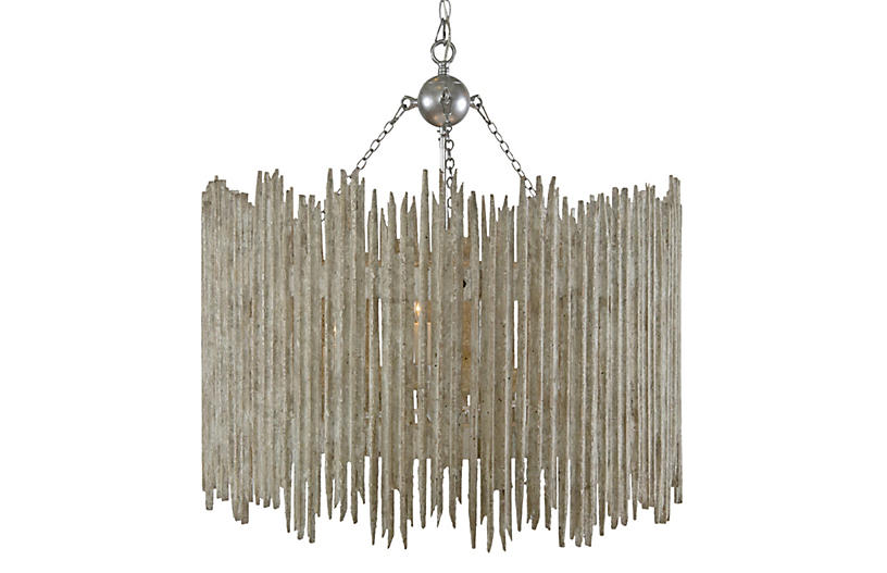 Crown & Glory 4-Light Barrel Pendant